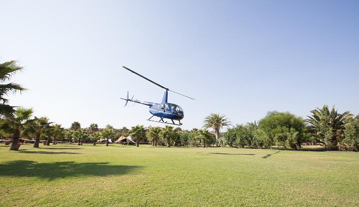 Тур на Вертолете Отдых на Сицилии