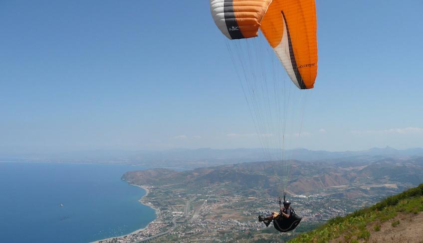 Спорт и Приключения – Отдых на Сицилии - Парапланеризм в Италии