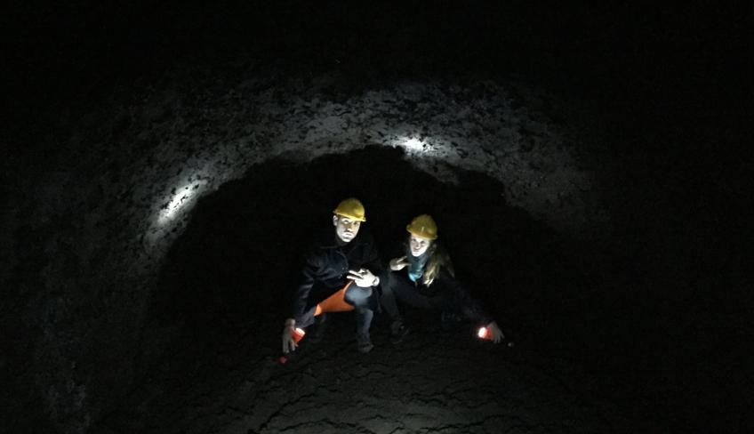 Grotta escursione Etna