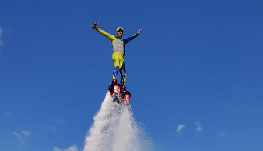 Водный Спорт Отдых на Сицилии – Флайборд