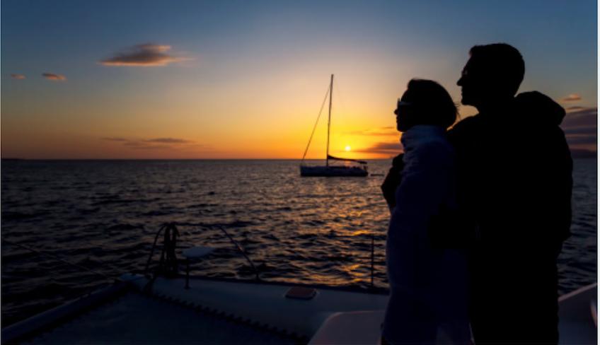Катание на лодках - Отдых на Сицилии - Итальянский круиз