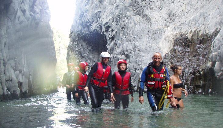 Ущелье Алькантара Сицилия -