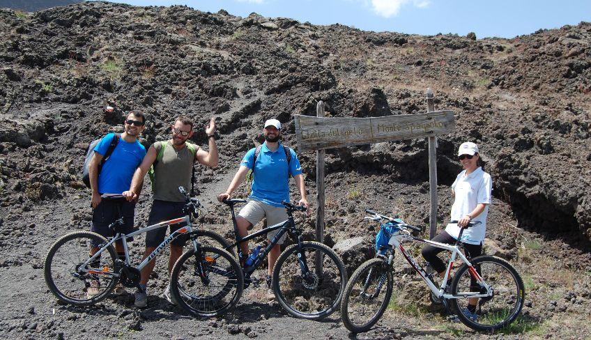 Велоспорт на Этне -