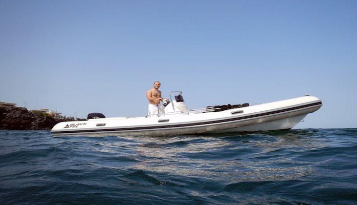 Прогулки на лодке Катания -