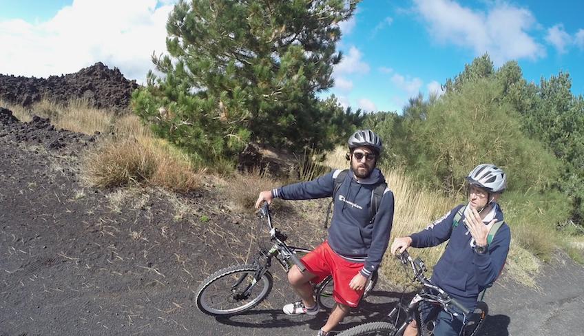 велоспорт на Сицилии, как посетить Этну, езда на велосипеде на Сицилии