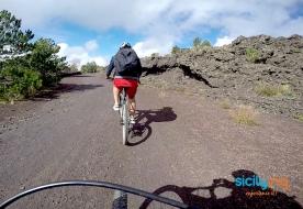 Велоспорт на Сицили - песещение Этны