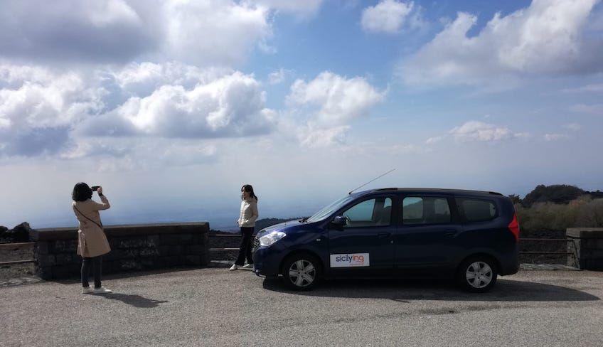 Из катании в таормину - Посетить гору этна на машине
