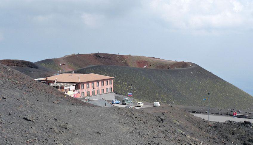 посетить гору этна на машине - этна тур на закате