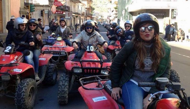 аренда квадроцикла сицилия квадроцикл на Сицилии пешие экскурсии сицилия Этна