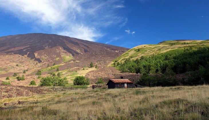 Природа Сицилии - Треккинг на вулкане