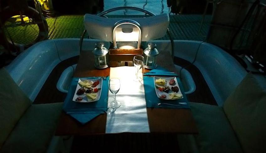 Плаванье на лодке Катания -